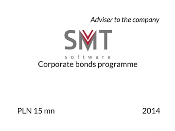 Bonds programme by SMT 2014