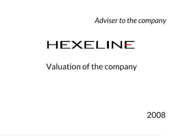 Valuation of Hexeline