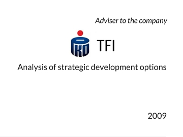Strategic options for PKO TFI