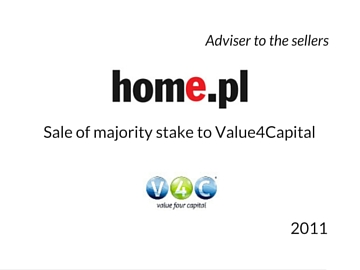 Sale of home.pl to V4C