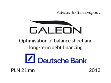 Refinancing of Galeon